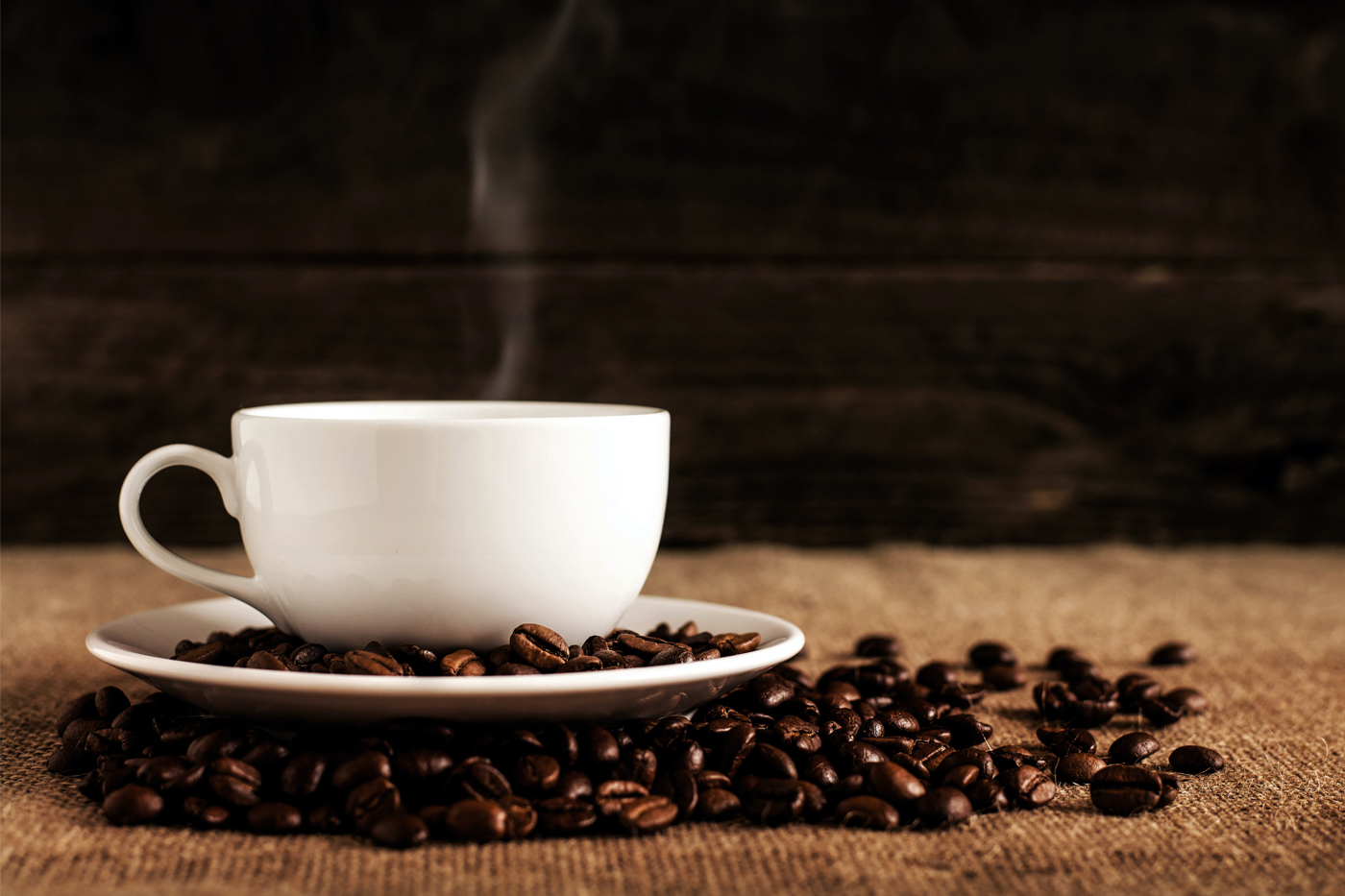 The beauty effect of decaffeinated coffee