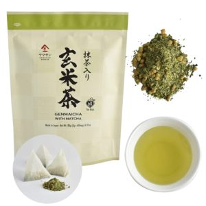 Genmaicha green tea with roasted brown rice 3g×60bags